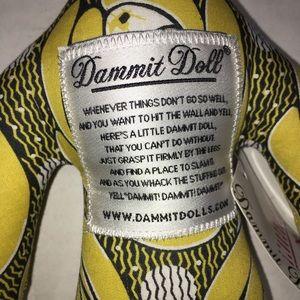 Dammit Doll NWT yellow (FF)